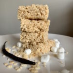 Brown Butter Vanilla Bean Rice Krispies Treats
