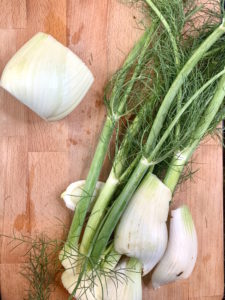 Fennel with fronds cut off